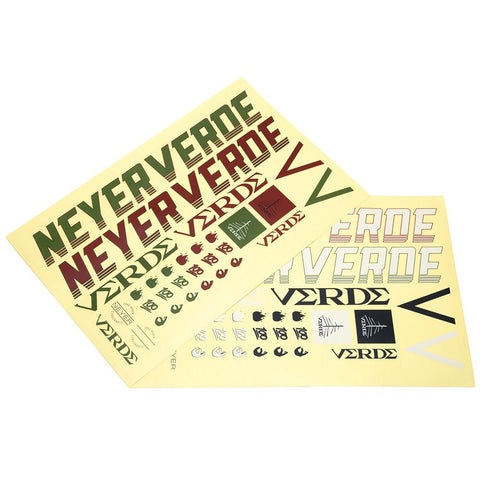 Verde Neyer Sticker Sheet