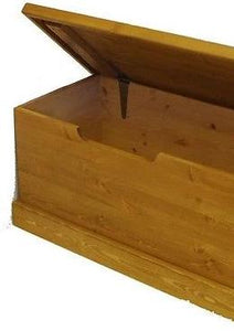 Blanket Box - Childs Solid Pine Toy Box (Medium)