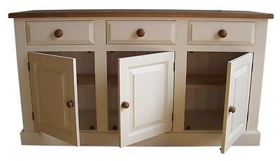 6' wide Painted Solid Wood Dining & Living room Sideboard
