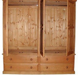 4 Door 4 Drawer Wardrobe