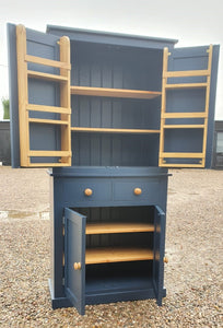 Kitchen 2 Door with 2 over 2 Base - Storage Larder Cupboard with Spice Racks - OPTION 2