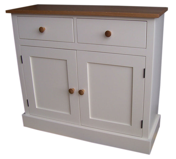 Shaker Style 2 Door 2 Drawer Sideboard -  30