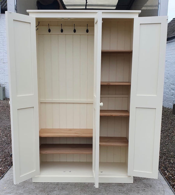 3 Door Hall, Utility Room, Cloak Room Coat & Shoe Storage Cupboard (35 cm deep) OPTION 1