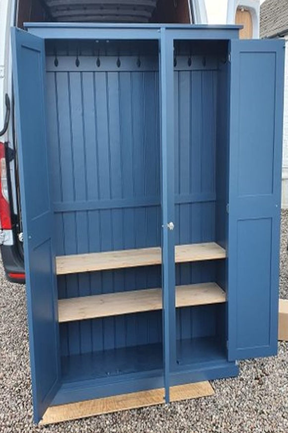 3 Door Hall, Utility Room, Cloak Room Coat & Shoe Storage Cupboard (35 cm deep) OPTION 2