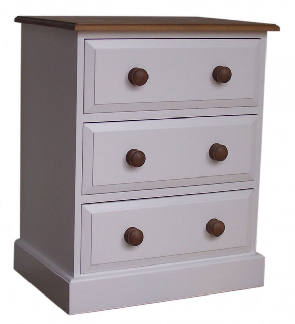 3 Drawer Wide Wellington Chest