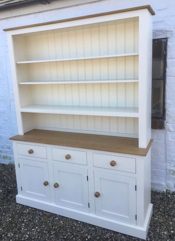 3 Door 3 Drawer Open Top Dresser - Available 4' or 5' wide