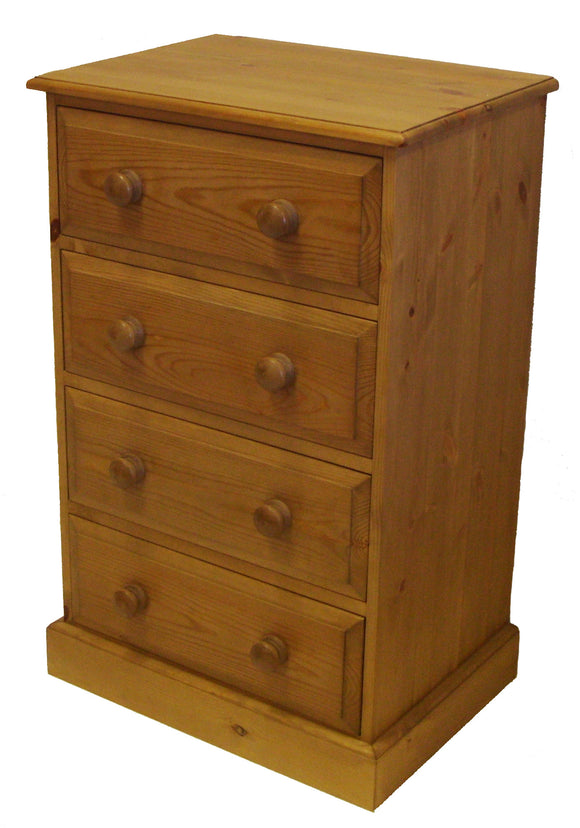 4 Drawer Wide Wellington Chest