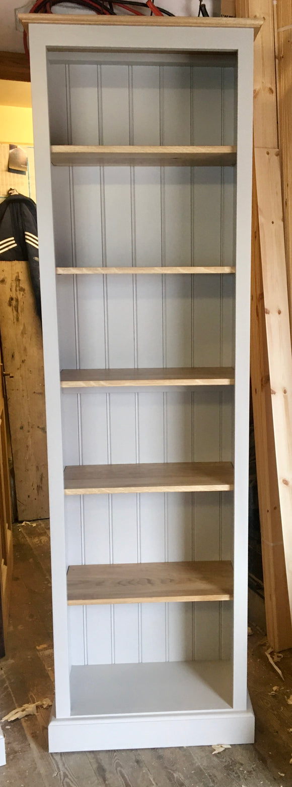 Solid Pine Tall Bookcase - 78
