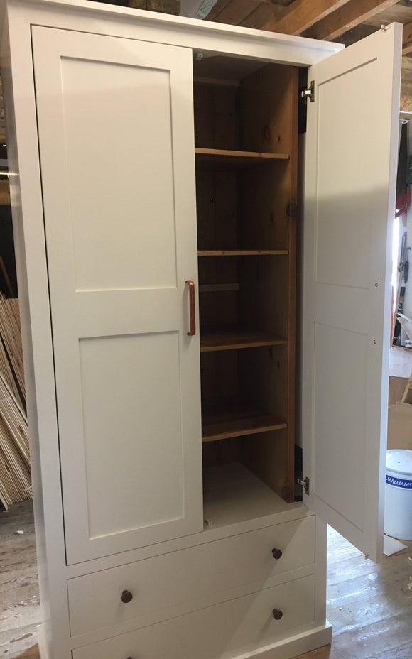 BESPOKE Larder with 1 over 1 Drawer
