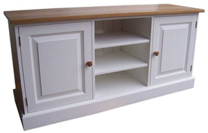 Large 2 Door and Open TV Cupboard