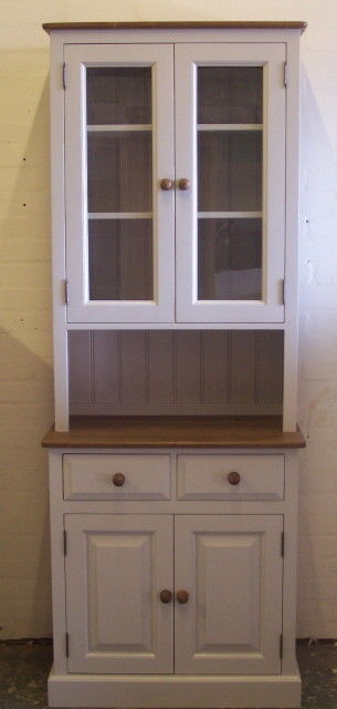 2 Door Glazed Dresser - various sizes