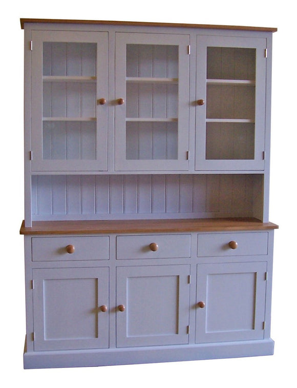 3 Door Glazed Dresser