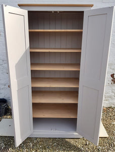 Kitchen, Hall, craft, toys storage cupboard fully shelved