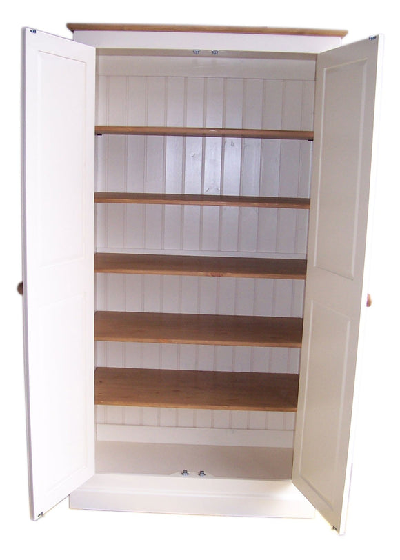 FULLY SHELVED 90 cm wide - Hall, Utility Room, Cloak Room, Toys Storage Cupboard (35 cm deep)