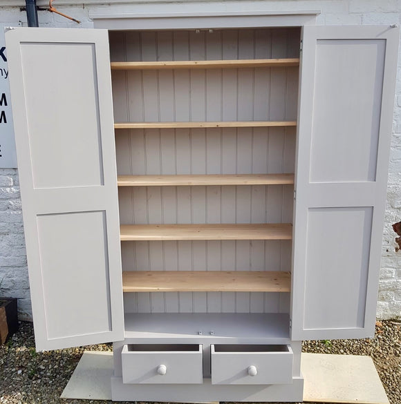 100 cm wide - Kitchen, Hall, Utility Room, Cloak Room, Toys Storage Cupboard with 2 Drawers