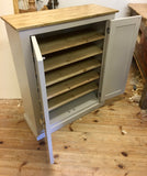 Shaker Style Low 2 Door Hallway Shoe Cupboard - to match our Tall Hall Cupboard (35 cm deep)