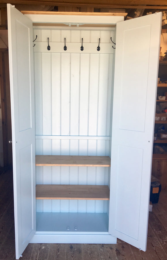 80 cm wide - Hall, Utility Room, Cloak Room Coat & Shoe Storage Cupboard