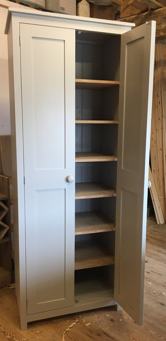 Hallway, Kitchen, Utility Storage Cupboard - Fully Shelved VARIOUS WIDTHS - 16