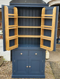 Kitchen 2 Door with 2 over 2 Base - Storage Larder Cupboard with Spice Racks - OPTION 1