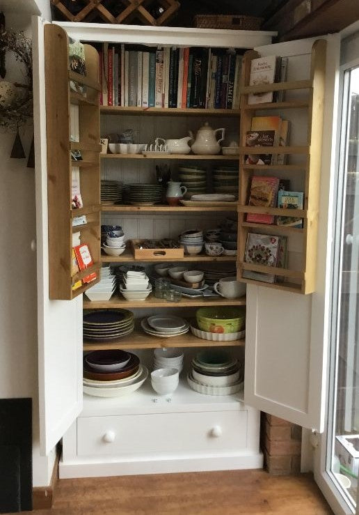 Kitchen Larder Pantry and Drawer WITH Spice Racks (40 cm and 50 cm deep) - ALL SIZE VARIATIONS