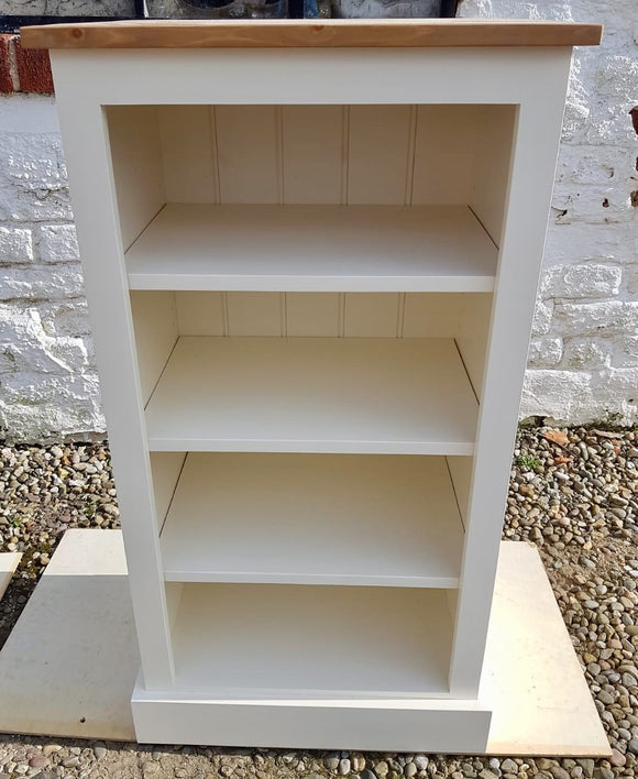 Solid Pine Low Bookcase - 48