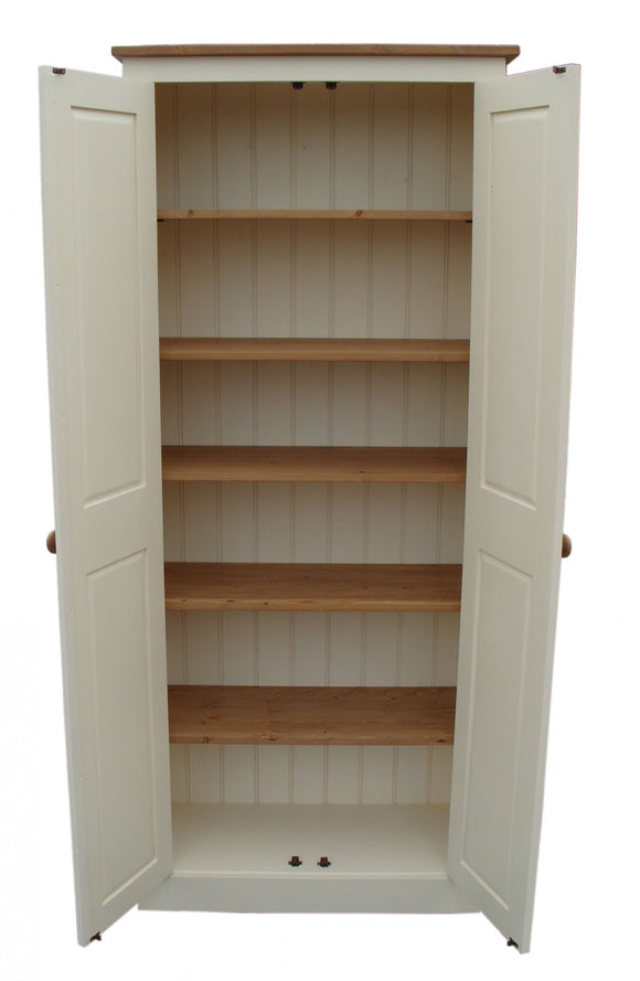 FULLY SHELVED 80 cm wide - Hall, Utility Room, Cloak Room, Laundry, Toys Storage Cupboard (35 cm deep)