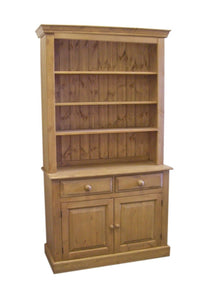 2 Door 2 Drawer OPEN TOP Dresser - Various Sizes