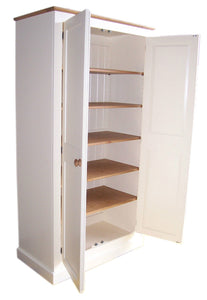 150 cm Medium Height Storage Cupboard for Hallway/Kitchen Utility Room (40 cm deep)