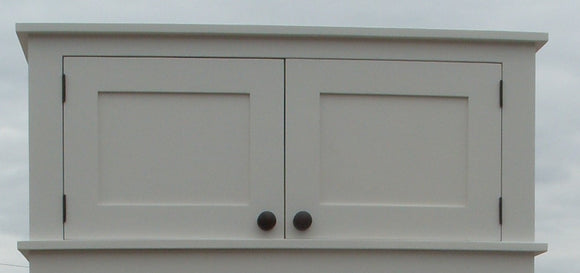 Hall Cupboard Extra Storage Top Box - All width Sizes (35 cm deep)