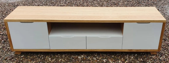 Contemporary Plasma TV Unit 180 cm Long - wide screen - Bespoke Service