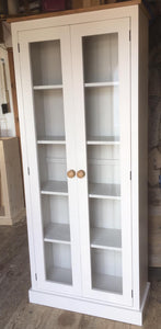2 Door Fully Glazed Display Cabinet  - ALL SIZE VARIATIONS