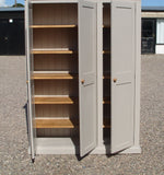 3 Door Larder/Hall for Kitchen items, Craft, Toys, Utility Room, Office Storage Cupboard (35 cm deep) OPTION 3 with EXTRA TOP BOX Storage