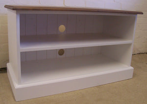 TV Unit - Open with Shelves - 3 Sizes