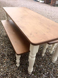 Farmhouse Kitchen Dining Table - All Sizes