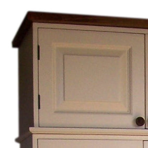 WARDROBE and deeper Hall or Larder Extra Storage Top Box - All  Width Sizes 50 cm - 60 cm deep