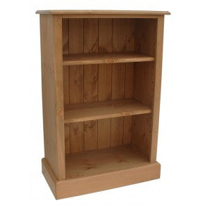 Solid Pine Low Bookcase - 36