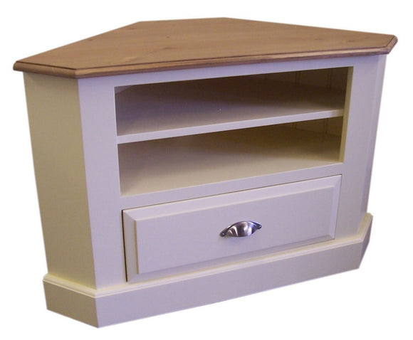 Corner TV Unit with Drawer