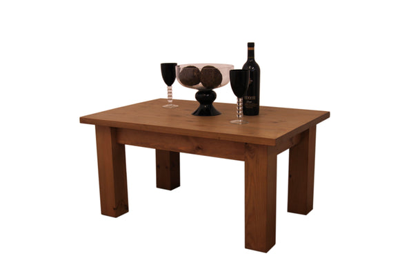 Square Leg Coffee Table 90 cm x 60 cm