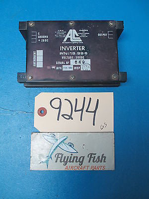 Aerospace SAAB 28VDC Overhead Cabin Lighting Inverter PN: 18-996 (9244)
