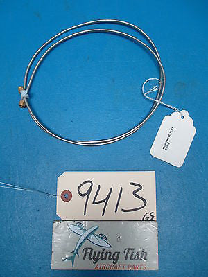 45 Inch Microwave RF Test Cable with SMA Male Connectors (9413)