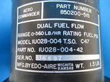 Aero Commander Dual Fuel Flow Indicator P/N: 850200-515 Guaranteed (7371)