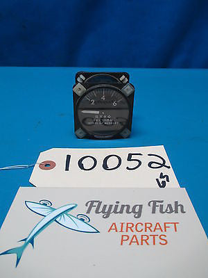 Airborne 1G10-1 Gyro Suction Indicator 2 - 6 inHg GUARANTEED WORKING (10052)