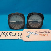 2 Aero Commander Vertical Speed Indicators 3000FT/Min SP-1409 & SP-1401 (14820)