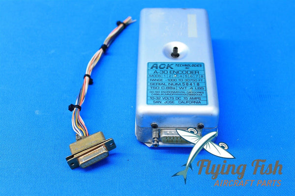 ACK Technologies Inc. A-30 Encoder, Tray & Harness 1966 Cessna 401 (19099)