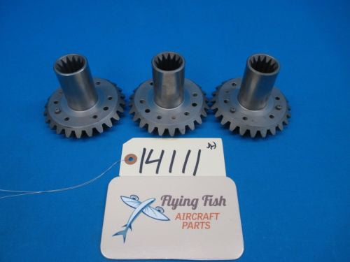 Aircraft Engine Gears Lycoming Continental Cessna Piper Beechcraft Lot (14111)