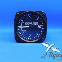 United Instruments Vertical Speed Indicator VSI 7000 Piper PA-28R-180 (19481)