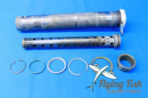 Beechcraft Baron 55 Nose Landing Gear Barrel & Orifice P/N 35-825195 (19694)