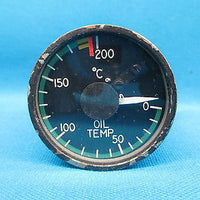 Aero Commander Lewis Oil Temperature Indicator 3883019-501 , 162C36A (16422)