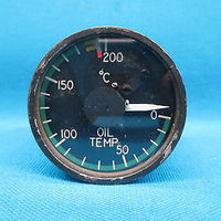 Aero Commander Lewis Oil Temperature Indicator 3883019-501 , 162C36A (16421)