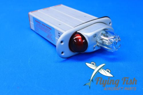 Aeroflash Strobe Light & Power Supply 28V P/N C622010-0101 156-0019R NEW (19818)